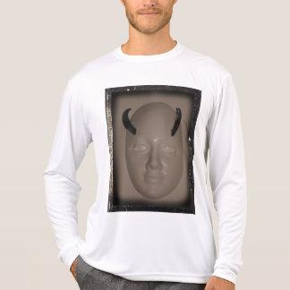 Cara Horned com bordas chanfradas por KLM Camiseta