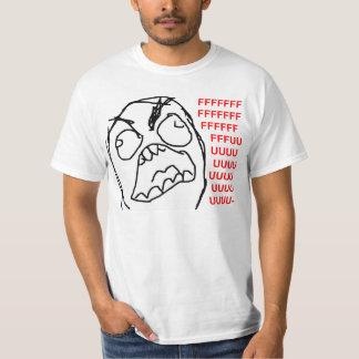 Cara irritada Meme da raiva de Fuu Fuuu da cara da Camiseta