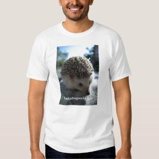 Cara padrão do ouriço tshirt