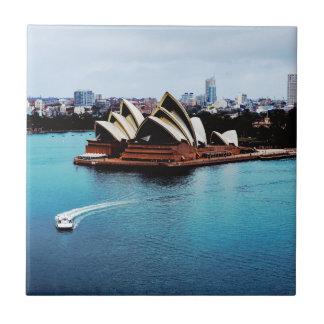 Característica do teatro da ópera de Sydney