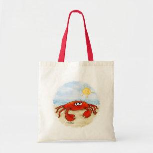 Caranguejo bonito na bolsa de praia c758827227e