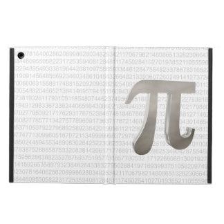Caráter bonito do pi do metal capa para iPad air
