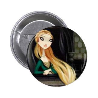 Caráter escuro 2 do conto de fadas - Rapunzel Boton