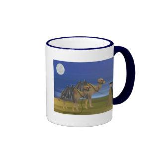 Caravana do camelo caneca