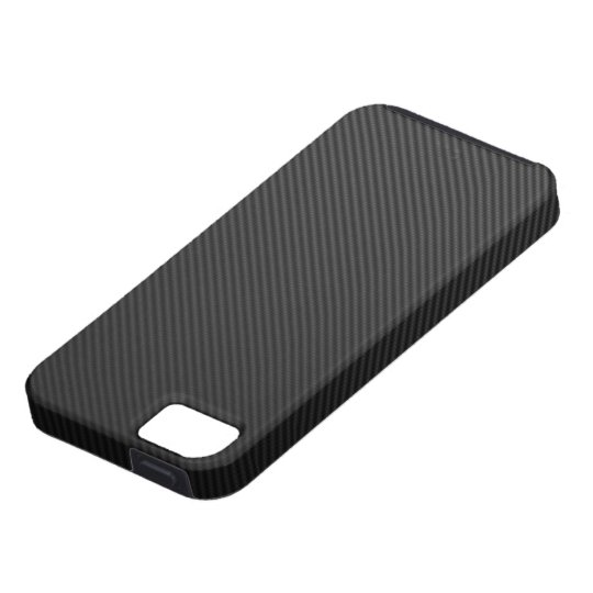 Carbon Fiber Capa Para iPhone 5