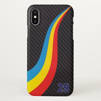 Carbono da capa de telefone de Fernando Alonso