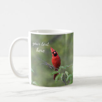 Cardeal do norte caneca de café
