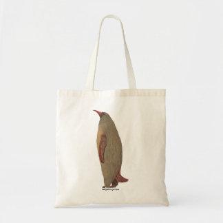Cardeal do pinguim fêmea bolsas de lona
