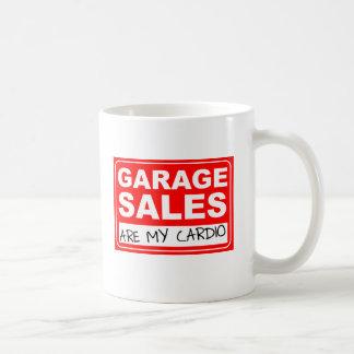 Cardio- caneca da venda de garagem