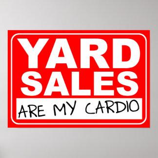 Cardio- poster da venda de jardim