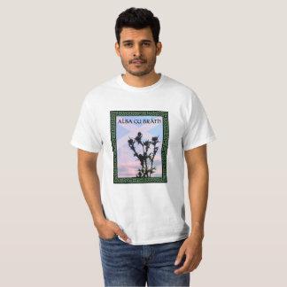 Cardo alba alba de Gu Bràth Scotland Camiseta