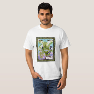 Cardo desenfreado alba Saltire de Yes2 Gu Bràth Camiseta