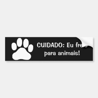 Adesivos de parachoque na Zazzle