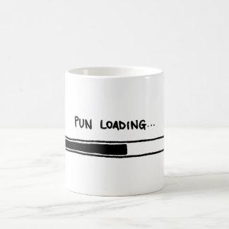 Carga da chalaça caneca de café
