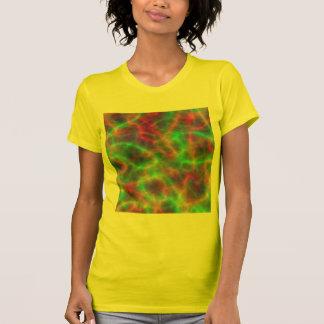 Cargas elétricas do arco-íris da luz camiseta
