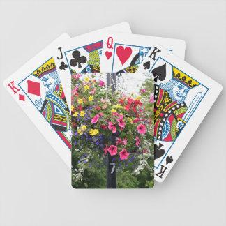 Cargo & flores da lâmpada jogo de carta