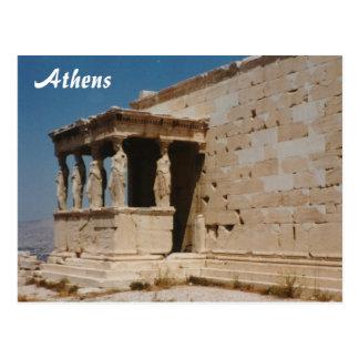 Cariatides - Atenas Cartão Postal