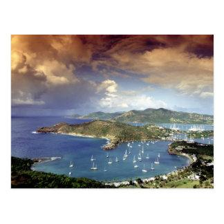 Caribe, Antígua Cartão Postal