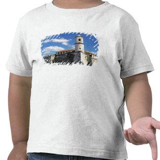 Caribe, Cuba, Havana. Havana velho, Castillo T-shirts
