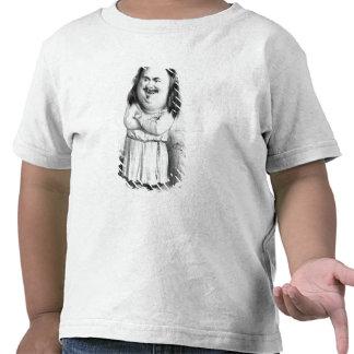 Caricatura de Honore de Balzac Tshirts