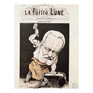 Caricatura de Victor Hugo Cartões Postais