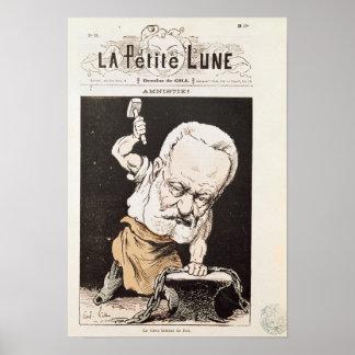 Caricatura de Victor Hugo Pôsteres