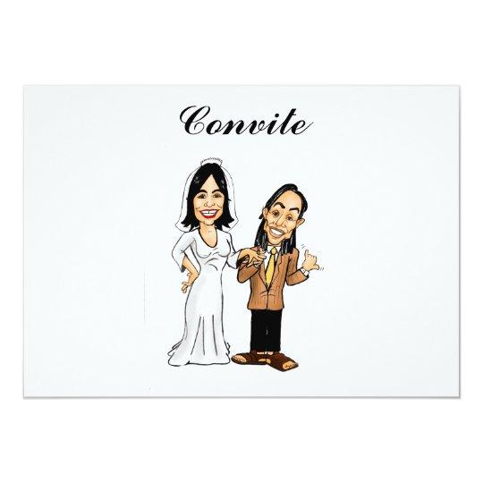Caricaturas em convites