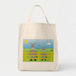 Caridade bonito dos asnos dos desenhos animados bolsa para compra