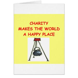 caridade cartoes