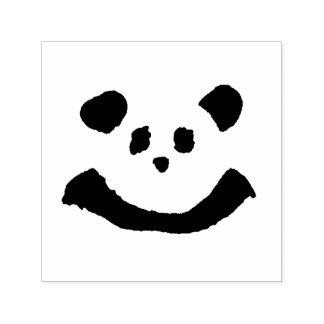 Carimbo Auto Entintado Cara da panda
