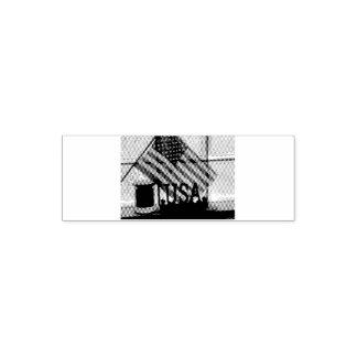 Carimbo Auto Entintado EUA-Bandeira do selo