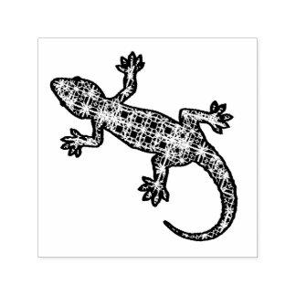 Carimbo Auto Entintado Geco/lagarto tribais do batik