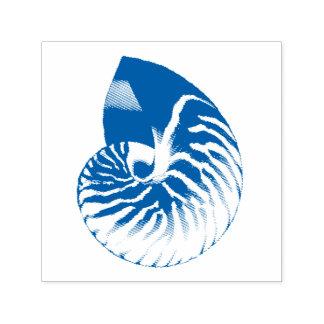 Carimbo Auto Entintado Ilustração de Shell do nautilus