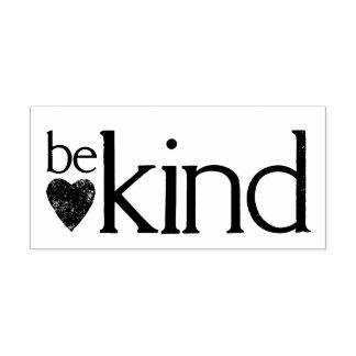 Carimbo Auto Entintado Seja amável - faça a contagem da bondade