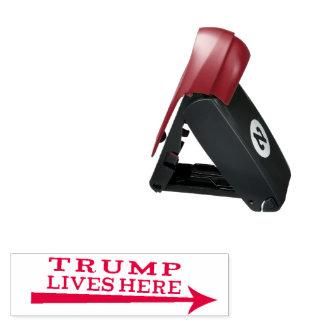 Carimbo De Bolso Do presidente Donald Trump das vidas selo