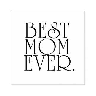 Carimbo De Borracha A melhor mamã nunca
