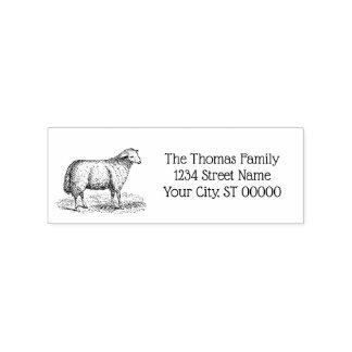 Carimbo De Borracha Animais de fazenda da ovelha dos carneiros do