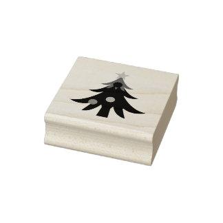 Carimbo De Borracha Árvore de Natal