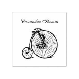 Carimbo De Borracha Bicicleta da bicicleta do Velocipede de Steampunk
