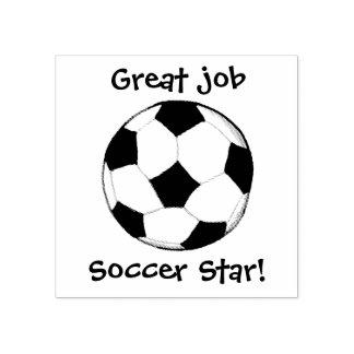 Carimbo De Borracha Bola de futebol feita sob encomenda de KiniArt