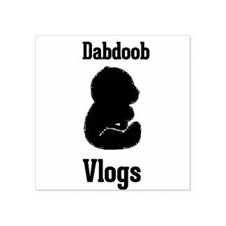CARIMBO DE BORRACHA DABDOOB VLOGS MERCH!!!