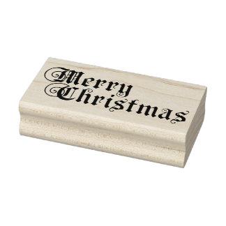 Carimbo De Borracha Feliz Natal