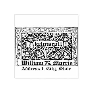 Carimbo De Borracha Kelmscott por Willaim Morris em 1891