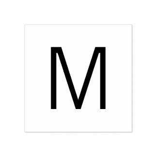 Carimbo De Borracha Monograma moderno profissional