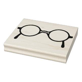 Carimbo De Borracha Selo de borracha da arte dos Eyeglasses do