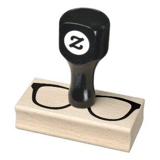 Carimbo De Borracha Selo de borracha do Eyeglass com punho