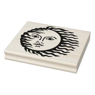 Carimbo De Borracha Selo de borracha ventoso da arte de Sun