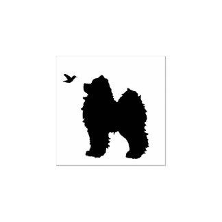 Carimbo De Borracha Selo do filhote de cachorro & do pássaro do