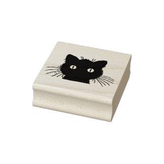 Carimbo De Borracha Silhueta principal do gato
