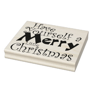 Carimbo De Borracha Tenha o feriado do Feliz Natal